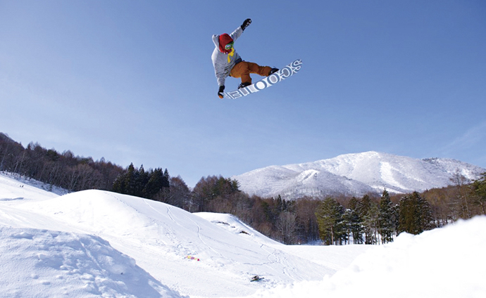 Winter sports(Kita-Shiga Kogen)