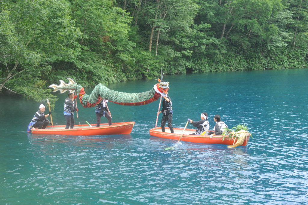第53回志賀高原大蛇祭りとミス志賀高原コンテスト