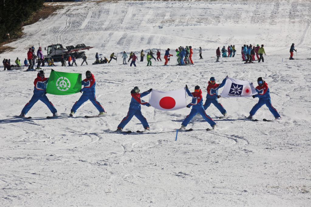 第52回志賀高原統一初滑り・スキー場開き祭